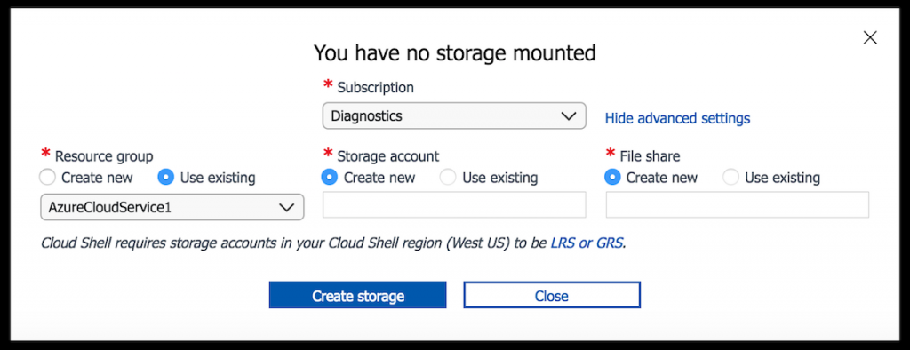 create-storage-account-advanced